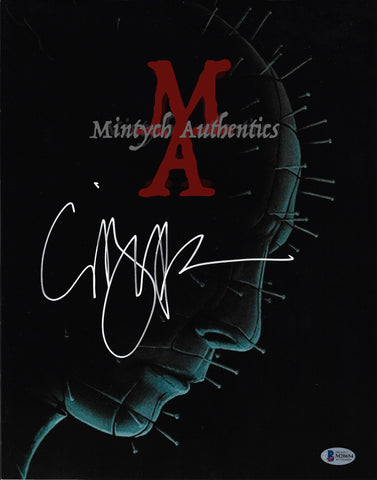 CB_125-11x14 Photo Autographed By Clive Barker