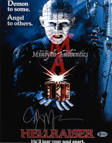 CB_132-11x14 Photo Autographed By Clive Barker