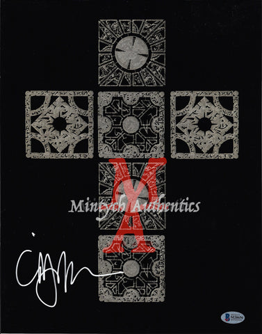 CB_148-11x14 Photo Autographed By Clive Barker