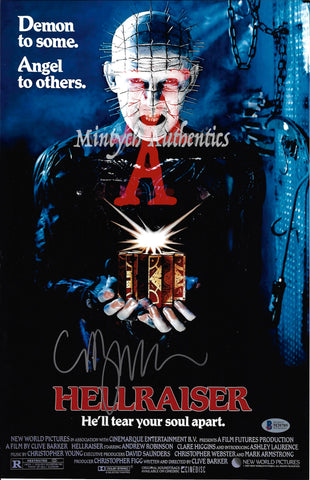 CB_176-11x17 Photo Autographed By Clive Barker