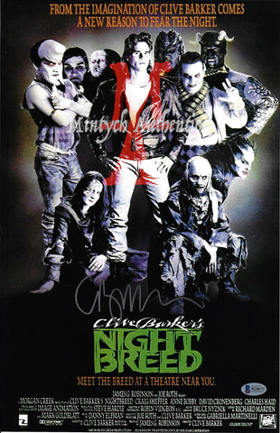 CB_178-11x17 Photo Autographed By Clive Barker