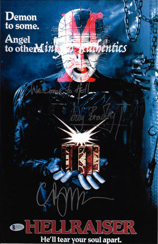CB_203-11x17 Photo Autographed By Clive Barker & Doug Bradley