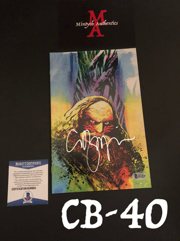 CB_40 - Nightbreed Comic Book Autographed By Clive Barker