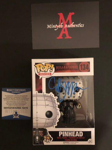 CB_53 - Pinhead Funko Pop! Autographed By Clive Barker