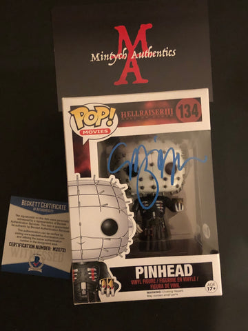 CB_57 - Pinhead Funko Pop! Autographed By Clive Barker