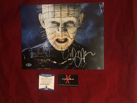 CBDB_03 - 11x14 Photo Autographed By Clive Barker & Doug Bradley