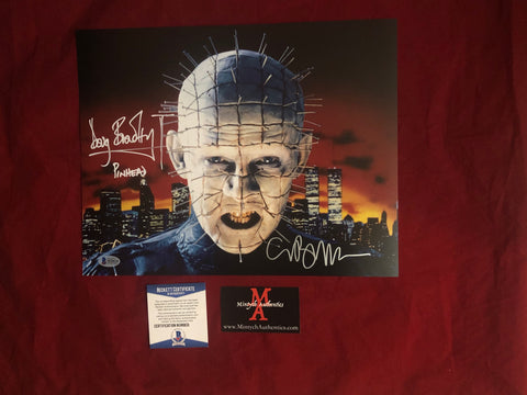 CBDB_05 - 11x14 Photo Autographed By Clive Barker & Doug Bradley
