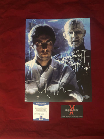 CBDB_07 - 11x14 Photo Autographed By Clive Barker & Doug Bradley