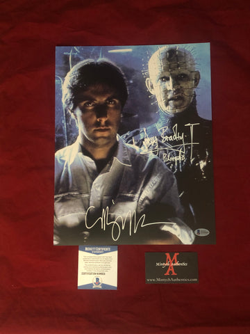 CBDB_08 - 11x14 Photo Autographed By Clive Barker & Doug Bradley