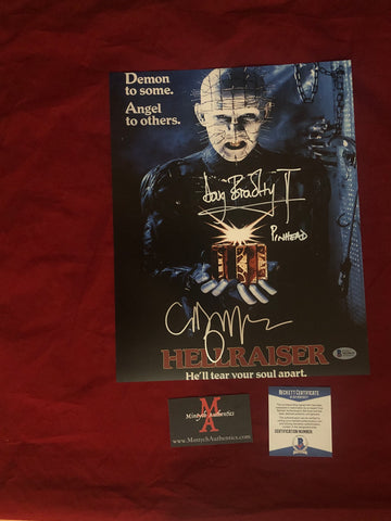 CBDB_21 - 11x14 Photo Autographed By Clive Barker & Doug Bradley