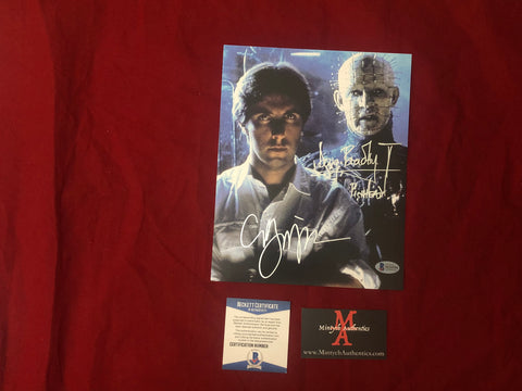 CBDB_28 - 8x10 Photo Autographed By Clive Barker & Doug Bradley