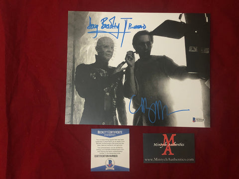 CBDB_37 - 8x10 Photo Autographed By Clive Barker & Doug Bradley