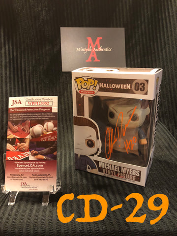 CD_29 - Michael Myers Funko Pop! Autographed By Chris Durand