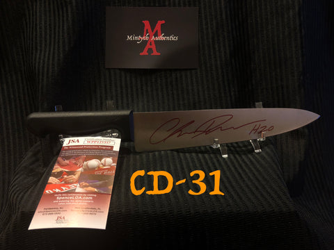 "CD_31 - 10"" Knife Autographed By Chris Durand"