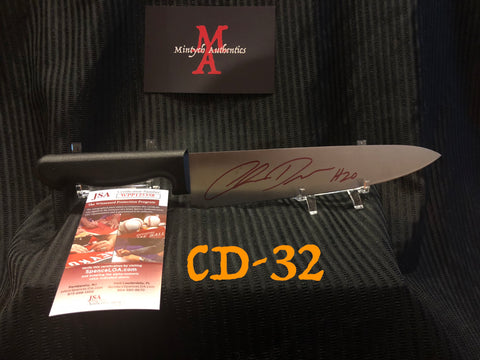 "CD_32 - 10"" Knife Autographed By Chris Durand"