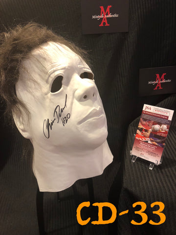 CD_33 - Michael Myers Mask  Autographed By Chris Durand