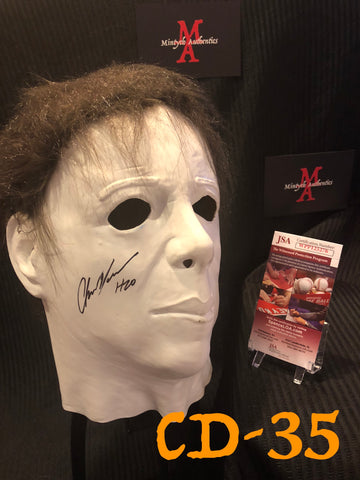 CD_35 - Michael Myers Mask  Autographed By Chris Durand