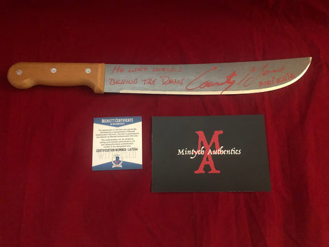 "CG_19 - 12"" Machete Autographed By Courtney Gains"