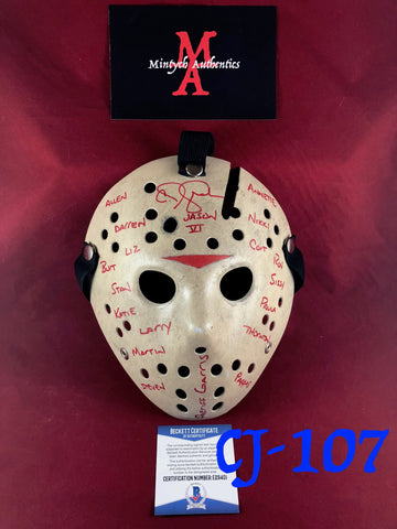 CJ_107 - Screen Accurate Jason Mask Autographed by CJ Graham