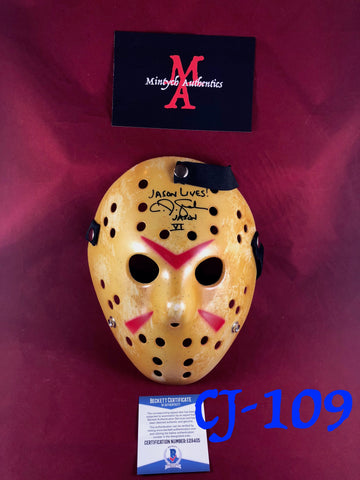 CJ_109 - Jason Mask Autographed by CJ Graham
