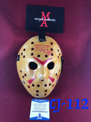 CJ_112 - Jason Mask Autographed by CJ Graham
