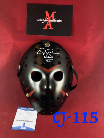 CJ_115 - Jason Mask Autographed by CJ Graham