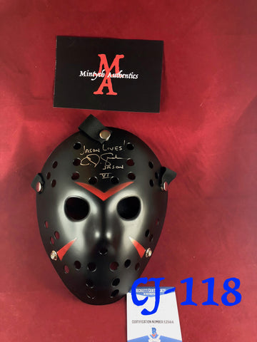 CJ_118 - Jason Mask Autographed by CJ Graham