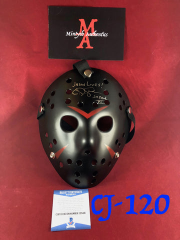 CJ_120 - Jason Mask Autographed by CJ Graham