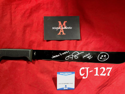 CJ_127 - Machete Autographed by CJ Graham