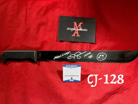 CJ_128 - Machete Autographed by CJ Graham