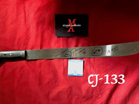 CJ_133 - Machete Autographed by CJ Graham