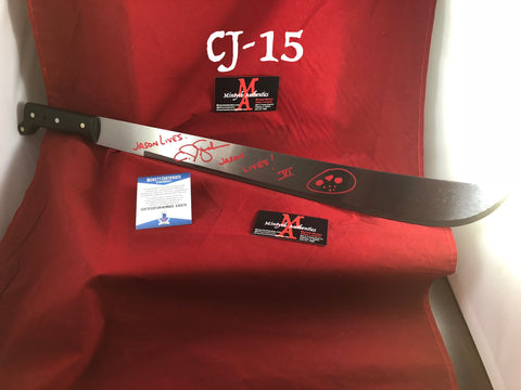 CJ_15 - Machete Autographed by CJ Graham