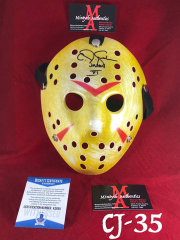 CJ_35 - Jason Mask Autographed by CJ Graham
