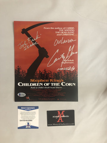 COTC_05 - 8x10 Photo Autographed By Courtney Gains & John Franklin