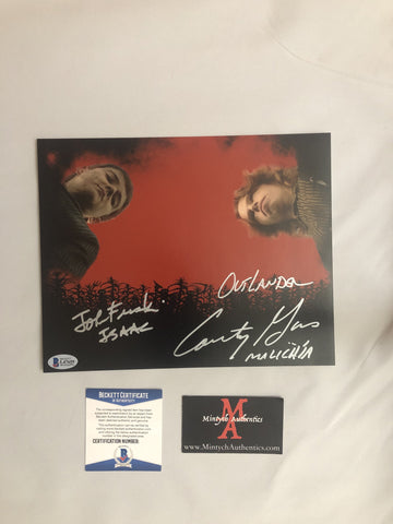 COTC_13 - 8x10 Photo Autographed By Courtney Gains & John Franklin
