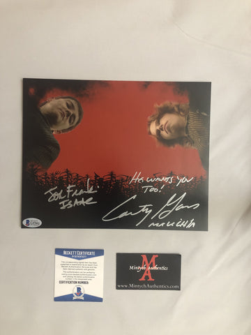 COTC_15 - 8x10 Photo Autographed By Courtney Gains & John Franklin