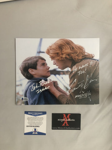 COTC_18 - 8x10 Photo Autographed By Courtney Gains & John Franklin
