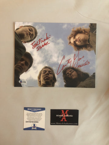 COTC_23 - 8x10 Photo Autographed By Courtney Gains & John Franklin