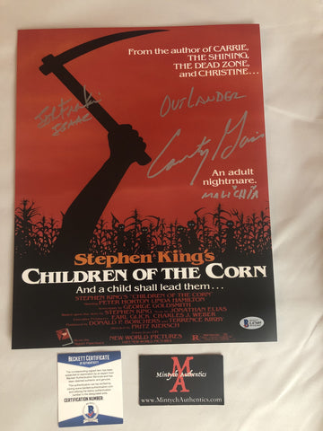 COTC_29 - 11x14 Photo Autographed By Courtney Gains & John Franklin