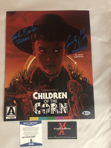 COTC_32 - 11x14 Photo Autographed By Courtney Gains & John Franklin