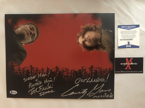 COTC_34 - 11x14 Photo Autographed By Courtney Gains & John Franklin
