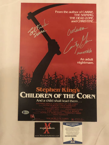 COTC_43 - 11x17 Photo Autographed By Courtney Gains & John Franklin