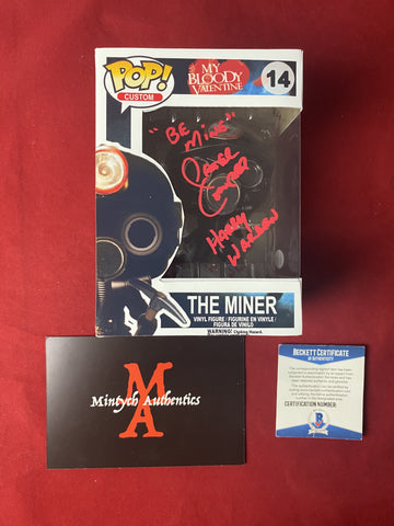 COWPER_103 - The Miner Custom Funko Pop! Autographed By Peter Cowper