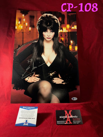 CP_108 - 12x18 Photo Autographed By Elvira