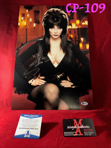CP_109 - 12x18 Photo Autographed By Elvira