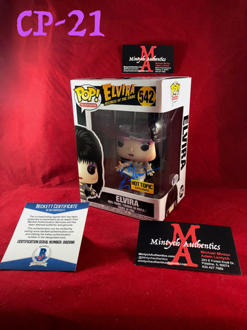 CP_21 - Elvira Funko Pop!  Autographed By Elvira