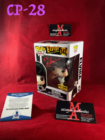 CP_28 - Elvira Funko Pop!  Autographed By Elvira