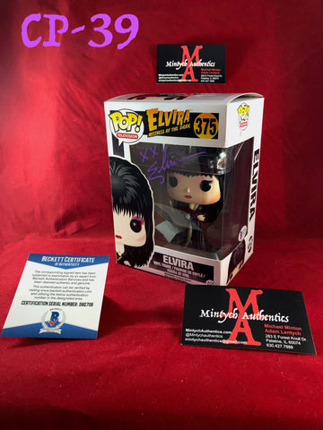 CP_39 - Elvira Funko Pop!  Autographed By Elvira