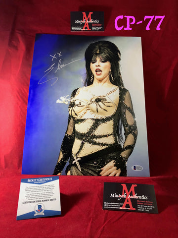 CP_77 - 11x14 Photo Autographed By Elvira