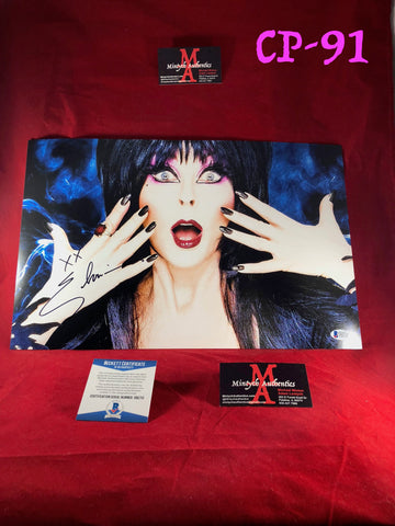 CP_91 - 11x17 Photo Autographed By Elvira